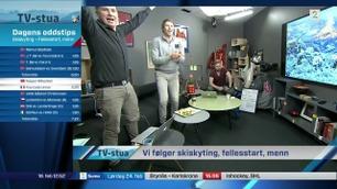Jubel i TV-stua for OL-bronse til Emil Hegle Svendsen