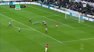 Sammendrag: Newcastle - Manchester United 1-0