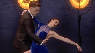 Danseparet setter fyr på salen