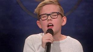 Oskar sjarmerer publikum med sin «Hjerteknuser»