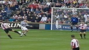 Sjekk Hughes' drømmemål som Southampton-spiller