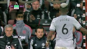 Er dette nok et tegn på dårlig stemning mellom Mourinho og Pogba?