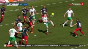 HamKam-kapteinen med spektakulært «Ronaldo-mål»