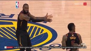 Sportsnyhetene: LeBron James fortvilte etter lagkompisens kjempeblemme