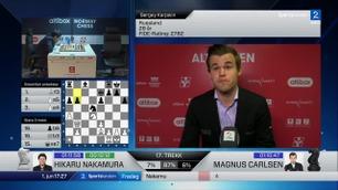 Magnus Carlsen med Paradise Hotel-referanse i skrifteboksen