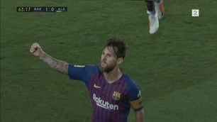 Frekt Messi-frispark da Barca vant