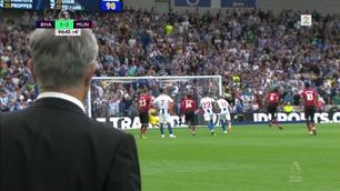 Sammendrag: Brighton - Manchester United 3-2