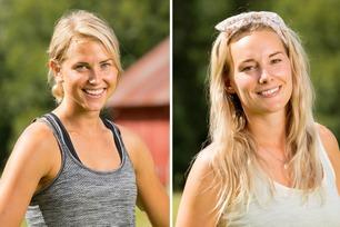 Tonje og Lene (29) skal skjule kjæresteforholdet på Farmen
