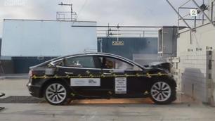 Tesla Model 3 er kollisjonstestet – slik gikk det