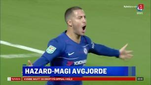 Sportsnyhetene: Hazard senket Liverpool med magisk mål