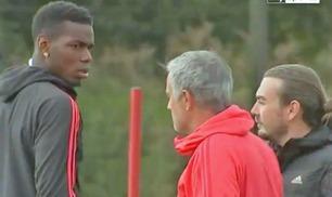 Videoen som setter fyr på spekulasjonene om feide mellom Pogba og Mourinho
