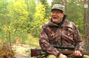 Ole Andreas (99) jaktet elg med spyd