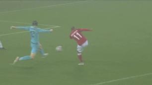 Braithwaite sender Danmark opp i 2-0