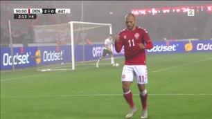 Sammendrag: Danmark - Østerrike 2-0
