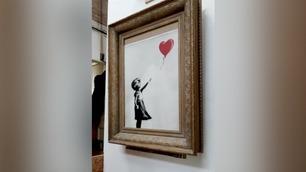 Banksy avslører: – Dette skulle egentlig skjedd med kunststuntet