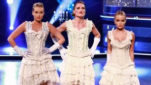 Jentenes gruppedans ble rost opp i skyene av dommerne: – Rått å se!