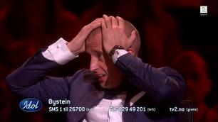 Gunnar Greve ble helt satt ut av Øysteins finaleopptreden