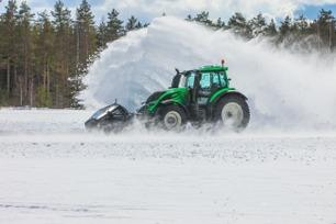 Her setter den førerløse traktoren verdensrekord