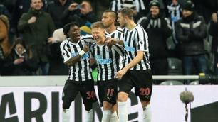 Slik sjokkerte Newcastle Manchester City - se høydepunktene