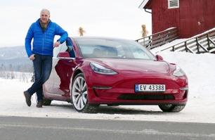 Norges første: Vi tester Tesla Model 3