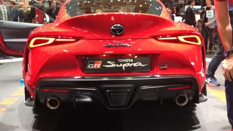 2020 Toyota Supra Na Snakker Vi En Ny Verden