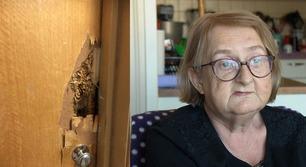 Borettslaget nekter å hjelpe Karin med ny dør