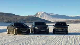 Test av luksus-elbiler: En ny konge på haugen