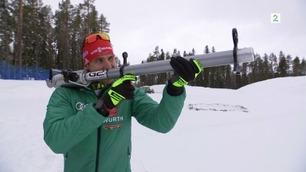 Her får verdensmesteren skyte Bjørndalen i rumpa