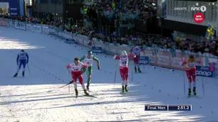Klæbo manøvrerte seg fra sisteplass til seier: – Det er helt utrolig at det går an