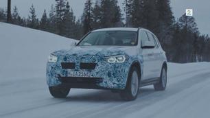 Elektrisk SUV: Her er elbilen BMW iX3 på vintertest