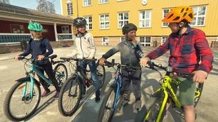 Denne sykkelen liker barna best