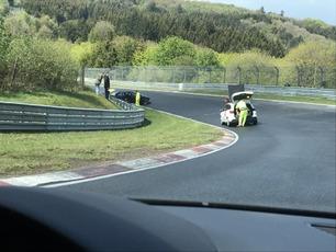 Nürburgring: – Dette er dessverre ikke uvanlig her
