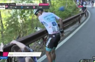 Sportsnyhetene: Sykkelstjerne gikk til angrep på tilskuer