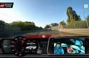 Toyota Supra på Le Mans: – Brems!