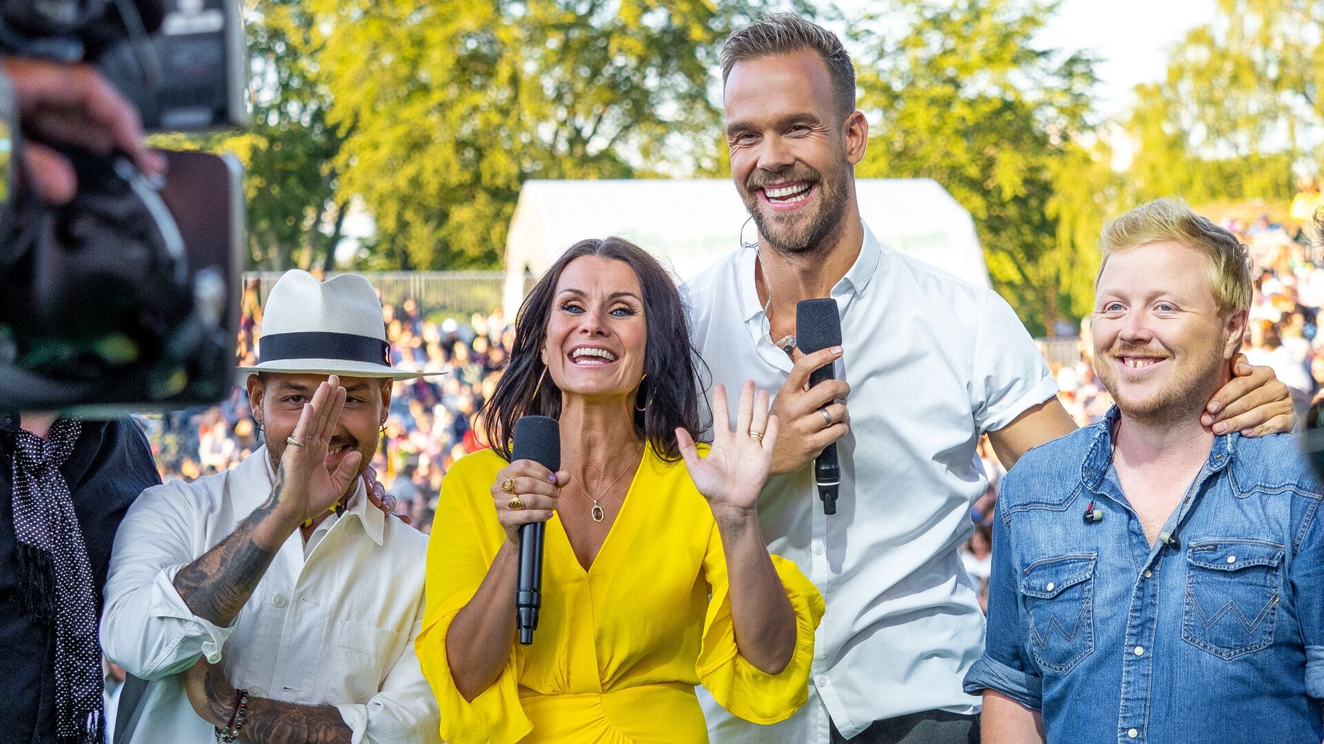Katrine Moholt Allsang på grensen 2015 TV 2