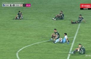 En slik fotball-protest har du ikke sett før