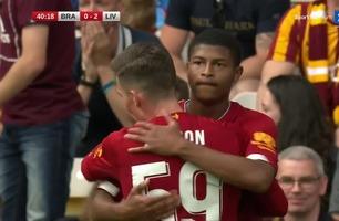 19-åring scoret for Liverpool