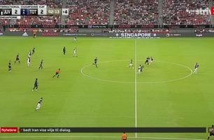Nyhetene: Kane scoret fra midtbanen mot Juventus