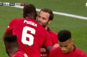 Mata avgjorde for Manchester United på straffespark