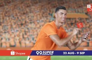 Ronaldo i bisarr reklamefilm