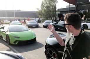 Dette har aldri skjedd i Norge – se den store Lamborghini-festen!