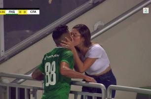 Løp rett til kona for å få et kyss, det var bare ett stort problem