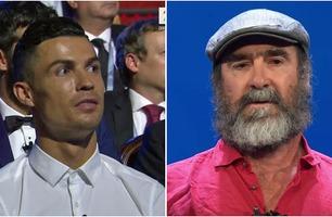 Ronaldos blikk under Cantonas absurde tale sier alt