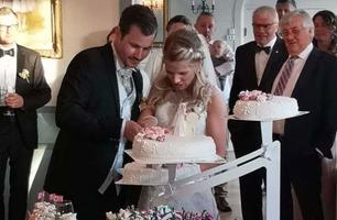 Fikk sjokkbeskjed dagen før bryllupsfesten