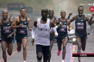 Eliud Kipchoge brøt drømmegrensen på maraton