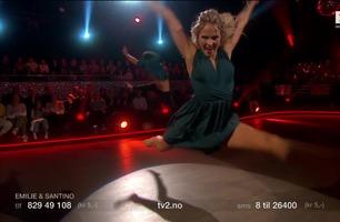 Emilie med «protest-dans»: – Du har virkelig giret opp