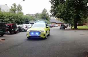 Audi e-tron: Denne ambulansen er helt unik.