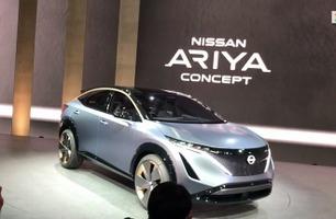 Elektrisk SUV fra Nissan - her debuterer den i Tokyo