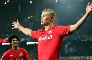 Eventyrlige Braut Haaland scoret to mot Napoli - er Champions League-toppscorer