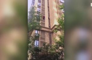 Dement 84-åring ville bare ha litt luft – klatret ned fra 14. etasje